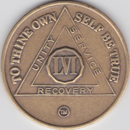 56 Year Bronze Medallion