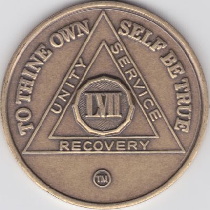 57 Year Bronze Medallion