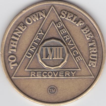 58 Year Bronze Medallion