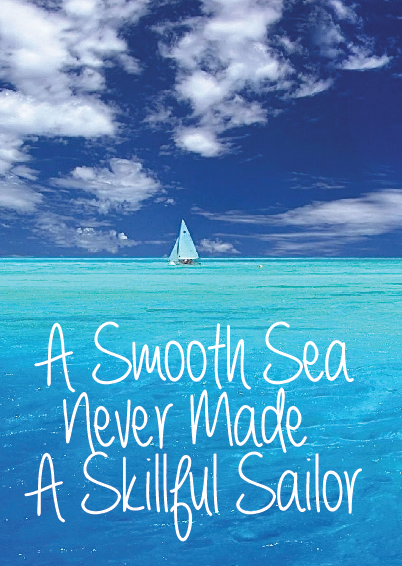 A Smooth Sea. Magnet.