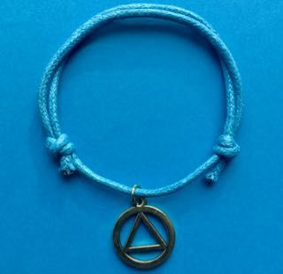 AA Symbol Adjustable Bracelets