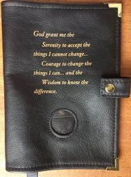 Black Leather Book Cover