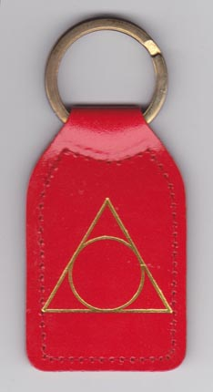 Key Fob, Alanon Leather