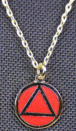 Necklace AA Red