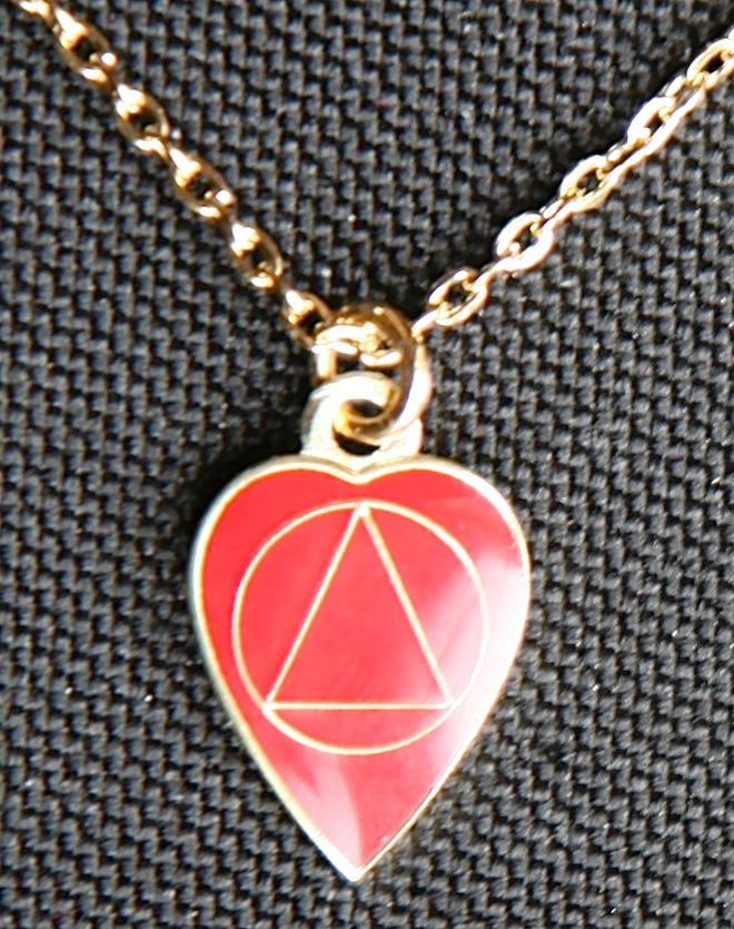 Necklace Heart AA