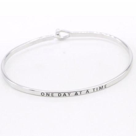 One Day at a Time Bangle