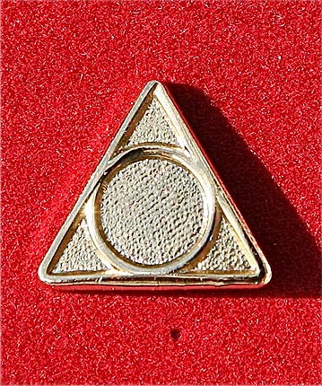 Pin Alanon Gold Overlay Solid
