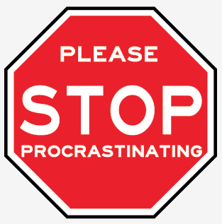 Please Stop Procrastinating