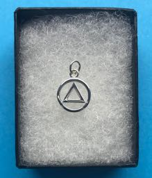 Sterling Silver AA Pendant Small