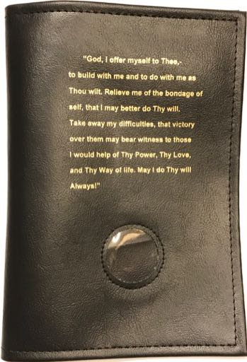 Third Step Prayer BB Cover Black