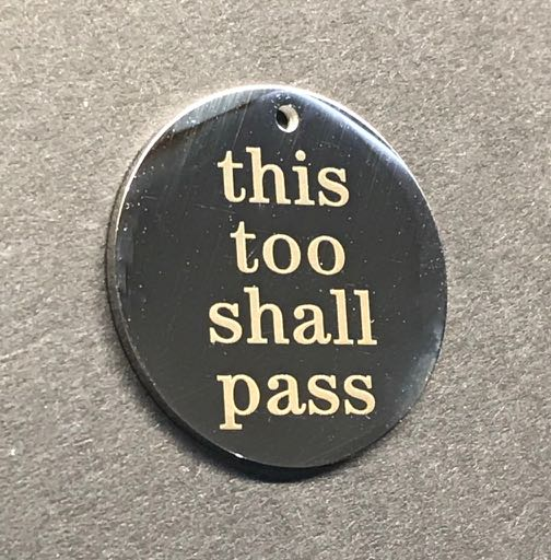 This Too Shall Pass Disc