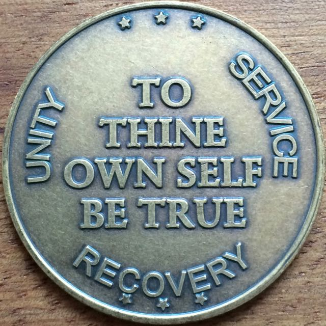 To Thine Own Self Be True Bronze