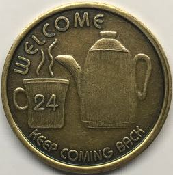 Welcome Coffee Pot Bronze