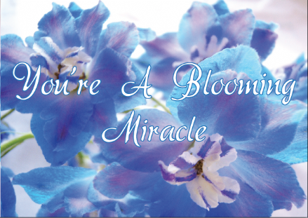 Your a Blooming Miracle !